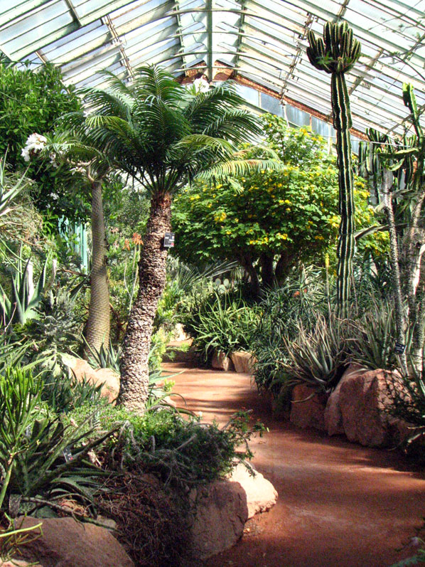 HORS REGION - Le jardin botanique du Parc de la Tête d\'Or à Lyon ...
