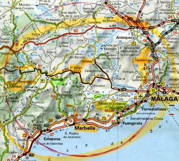 Carte Geographique Andalousie.Espagne 2 Orchidees De La Province De Andalucia Ophrys
