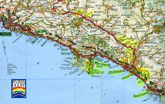 Carte Italie Ligurie.Carte Routiere Ligurie Italie Stopeads
